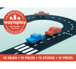 Silnice skládačka Ringroad 12ks Waytoplay