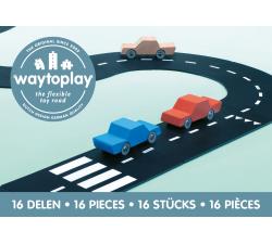 Silnice skládačka Expressway 16ks Waytoplay