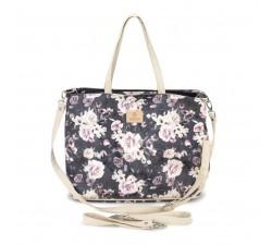 Přebalovací taška / kabelka Night Flowers L Makaszka