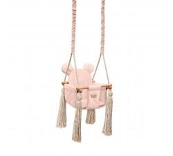 Houpačka Velvet Swing růžová BabySteps