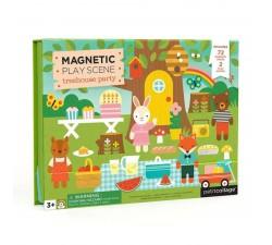 Magnetické divadlo Zvířátkový dům Petitcollage