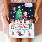 Magnetická kniha Vánoce