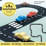 Silnice skládačka King of the Road 40ks Waytoplay