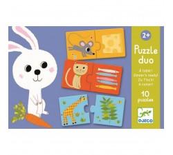 Duo Puzzle Co bude dnes k obědu? Djeco