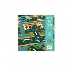 Puzzle Silnice Djeco