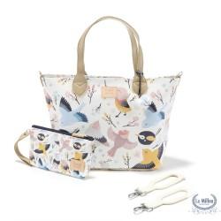 Feeria přebalovací taška Cute Birds M La Millou