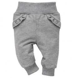 Kalhoty Unicorn šedé se stříbrnou nití Pinokio