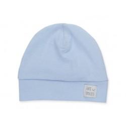 Čepice bavlněná modrá Pinokio