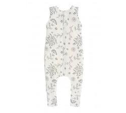 Oboustranný spací pytel s nohavicemi Sleepee Bloom/Černé tečky M